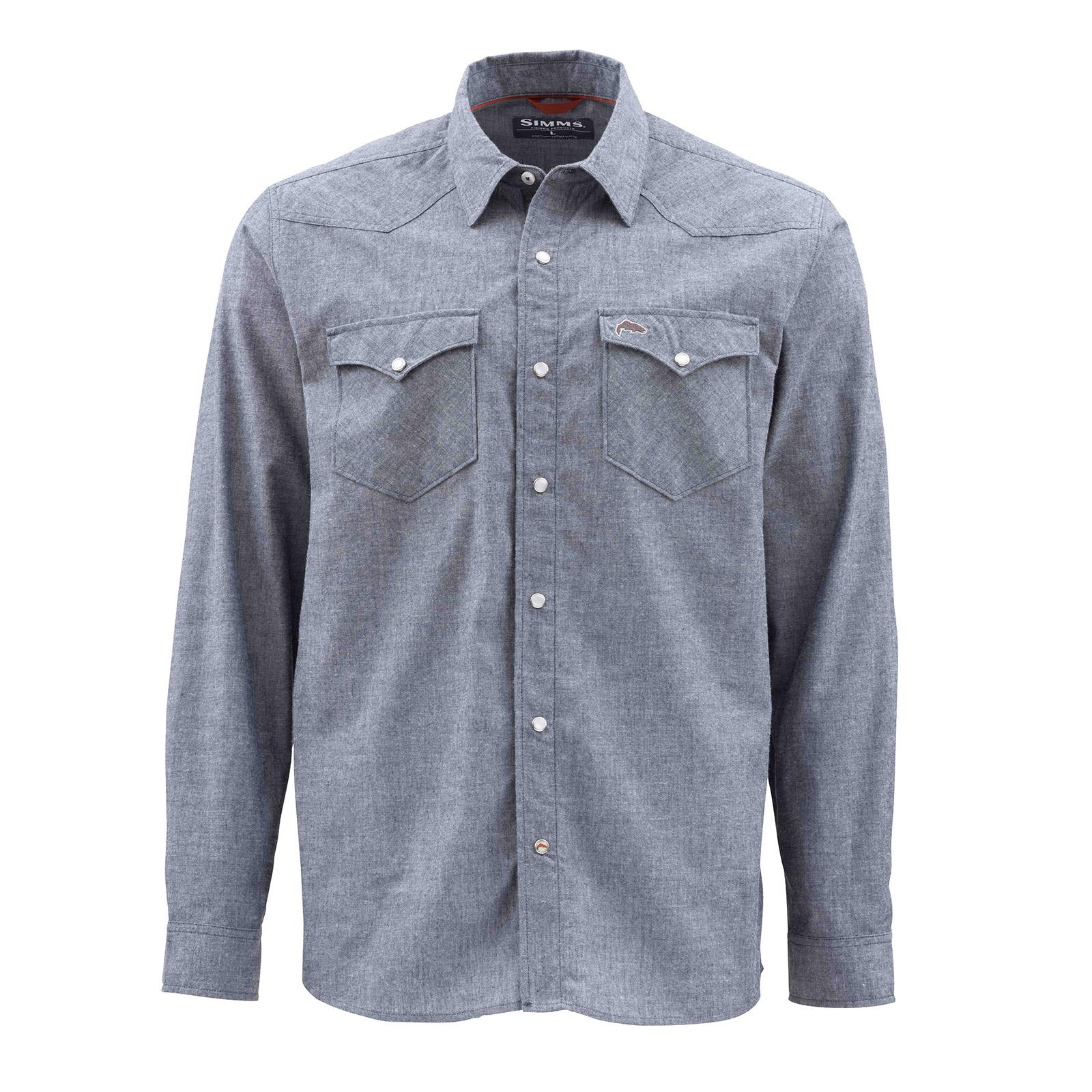 Admiral Blue Chambray Front