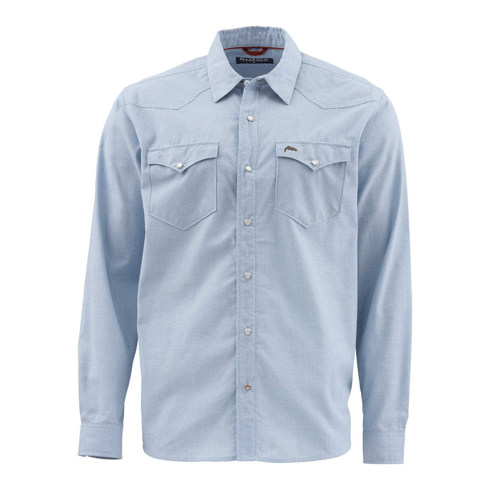 Faded Denim Chambray Front