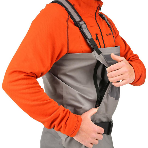 Simms G4 PRO Stockingfoot Chest Waders model side pocket
