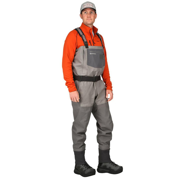 Simms G4 PRO Stockingfoot Chest Waders model side