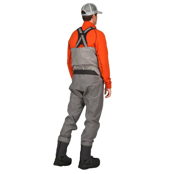 Simms G4 PRO Stockingfoot Chest Waders model back