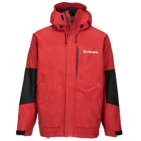 Simms Men's Challenger Insulated Jacket Auburn Red