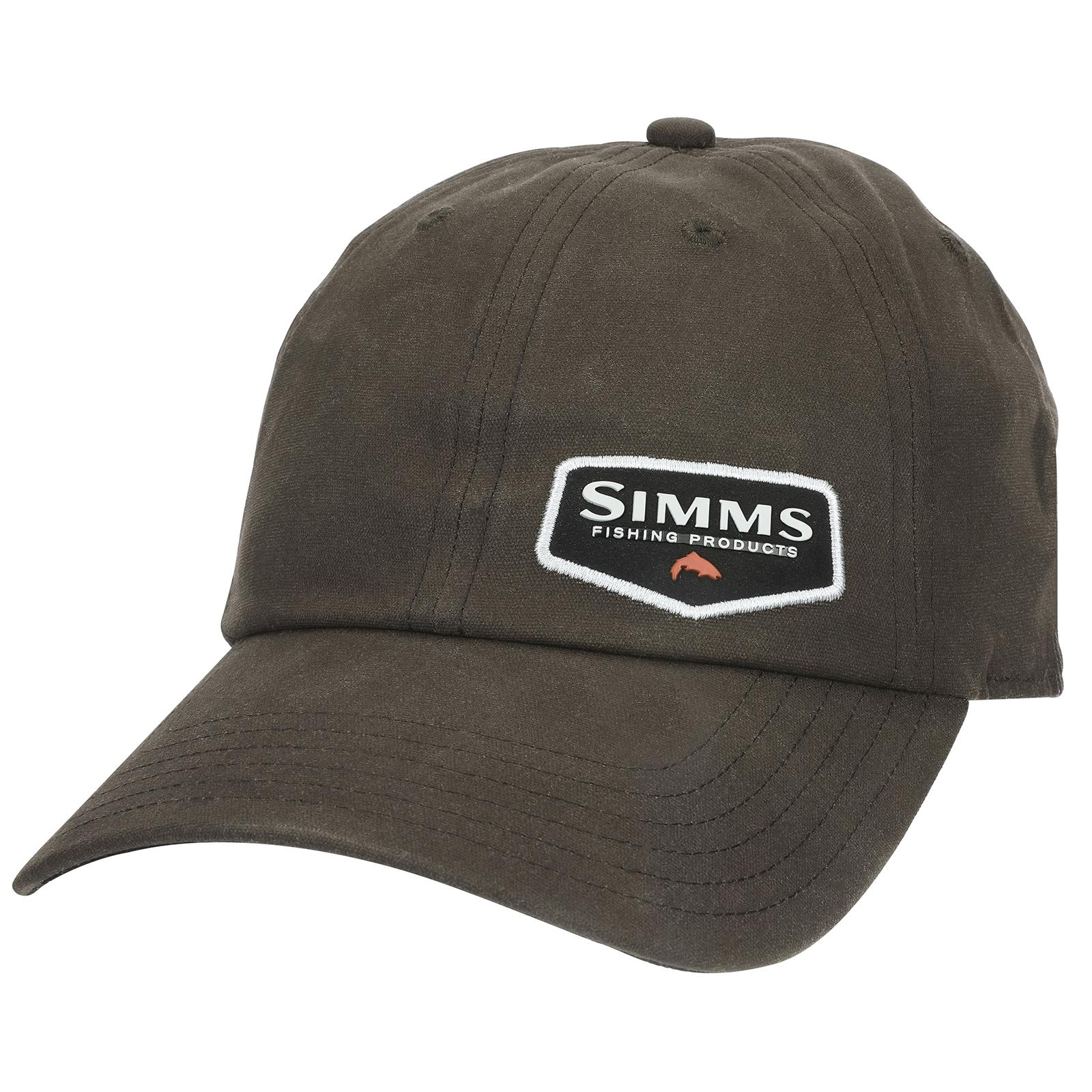 Simms Men's Oil Cloth Hat Coffee