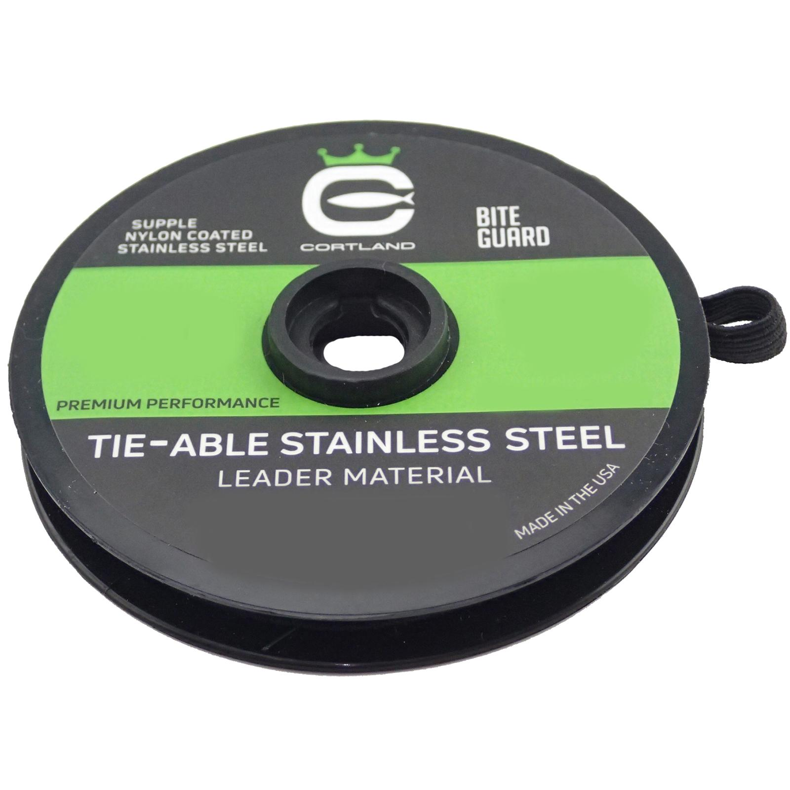 Cortland Tie-Able Stainless Steel Leader Material