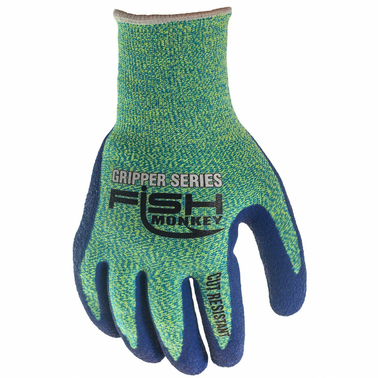 Fish Monkey Men's Fillet Gripper Gloves