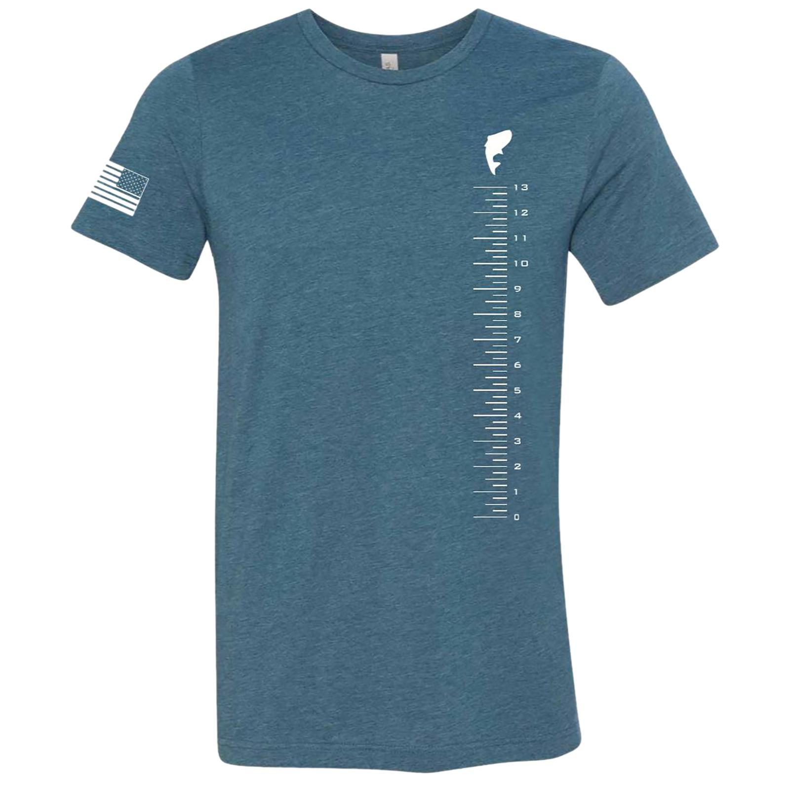 FishUSA Men's Measure Up T-Shirt