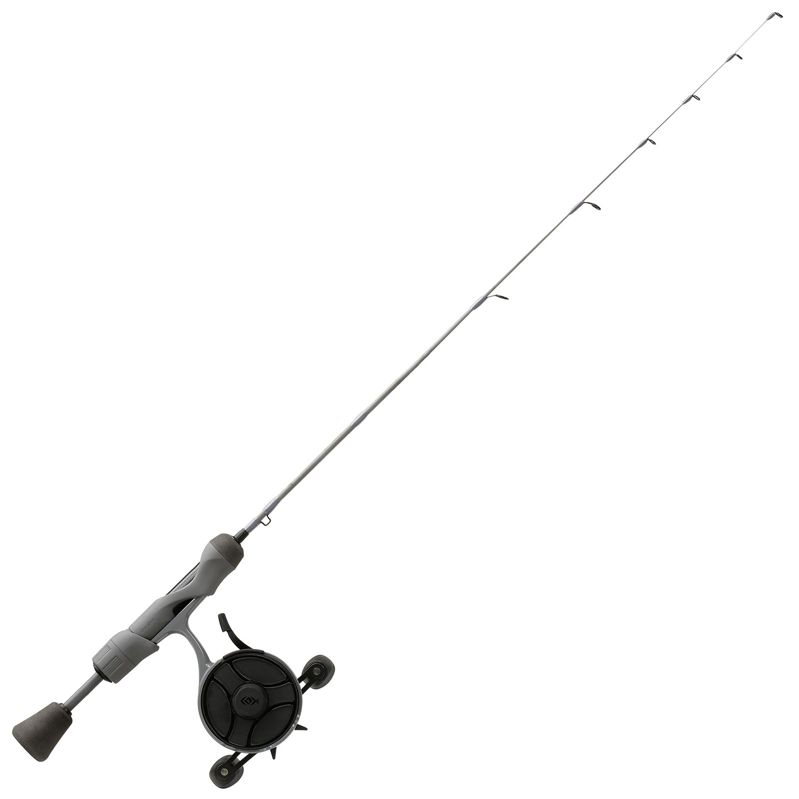 13 Fishing Black Betty FreeFall Ghost Stealth Edition Inline Ice Combo