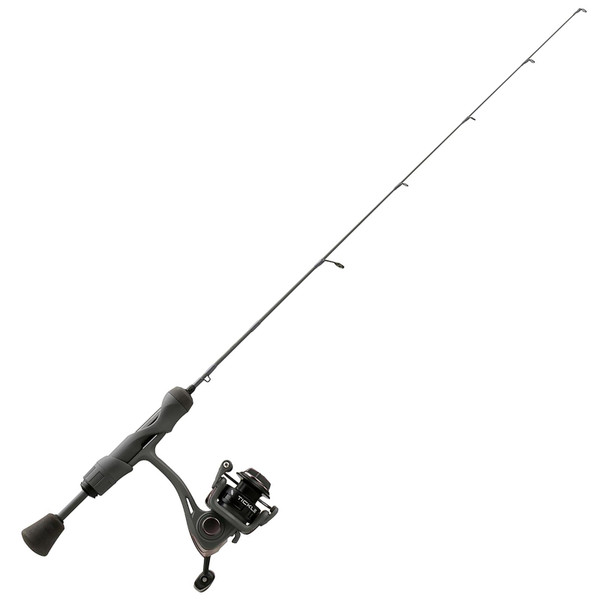 13 Fishing Wicked Stealth Edition Ice Spinning Combo