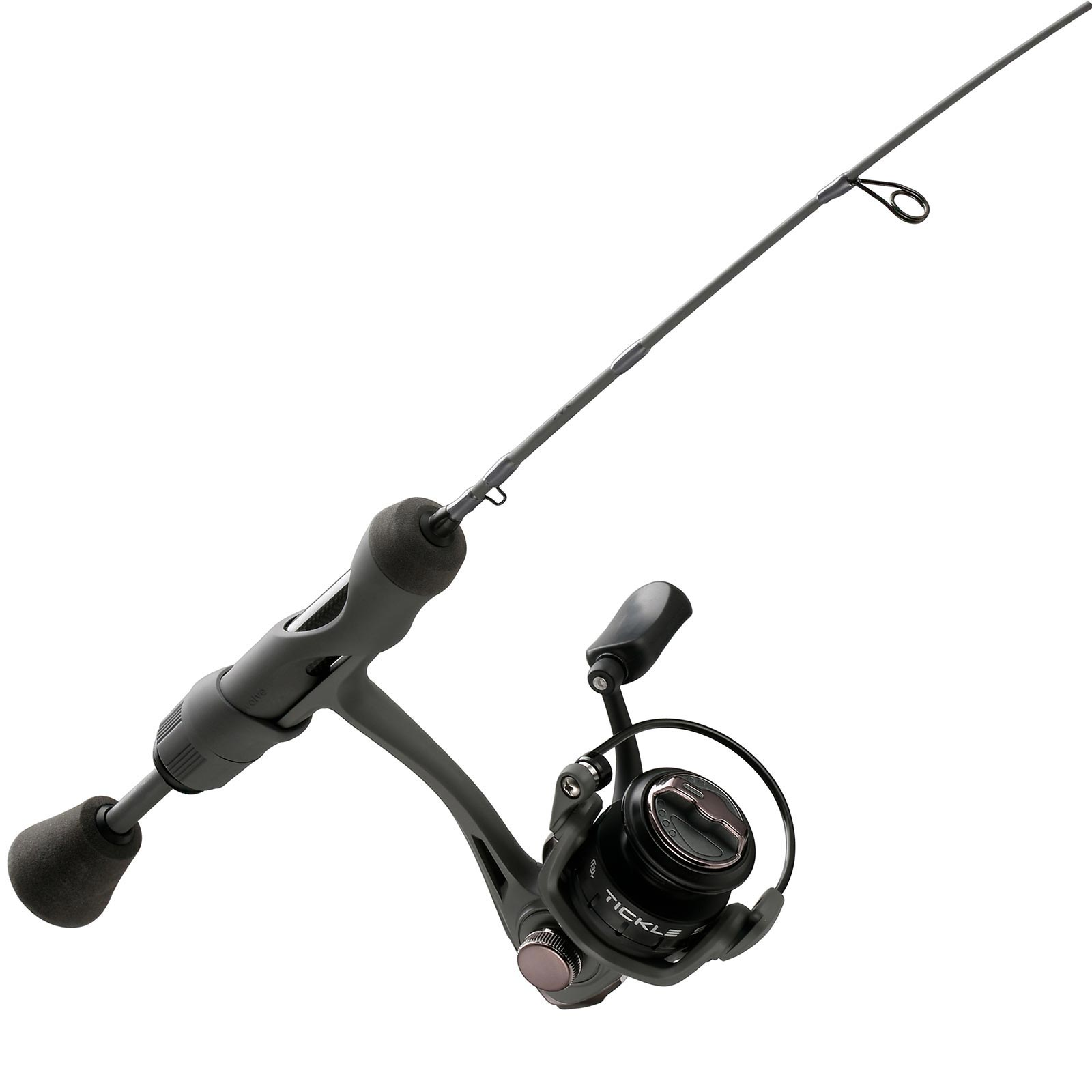 13 Fishing Wicked Stealth Edition Ice Spinning Combo Handle
