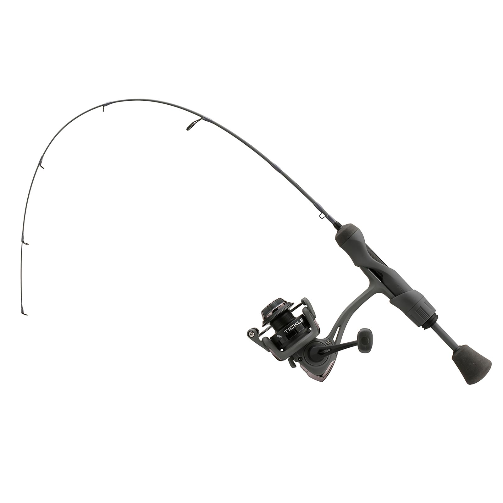13 Fishing Wicked Stealth Edition Ice Spinning Combo In Use