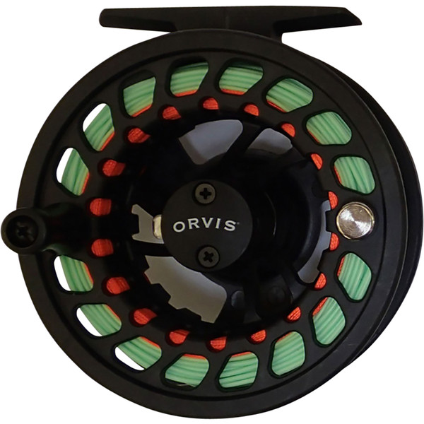 Orvis Encounter Fly Rod & Reel Outfit reel close-up