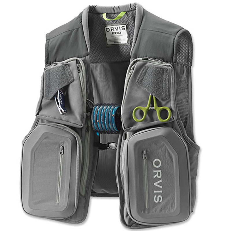 Orvis Men's PRO Fishing Vest Front