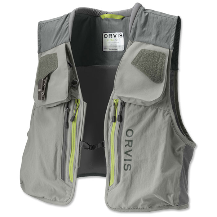 Orvis Men's Ultralight Fishing Vest Front