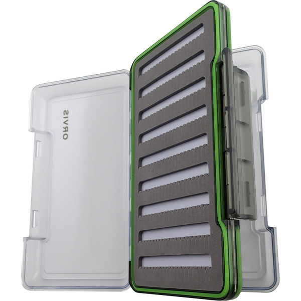 Orvis Double-Sided Fly Box L Open
