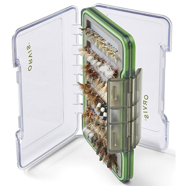 Orvis Double-Sided Fly Box M In Use