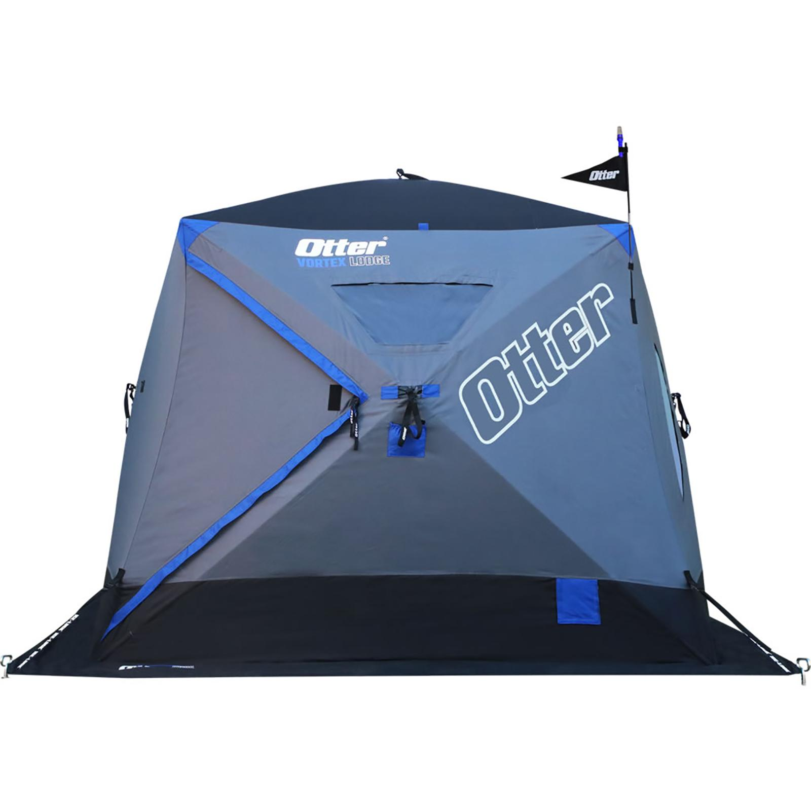 Otter Outdoors VORTEX Thermal Hub Ice Shelter Lodge