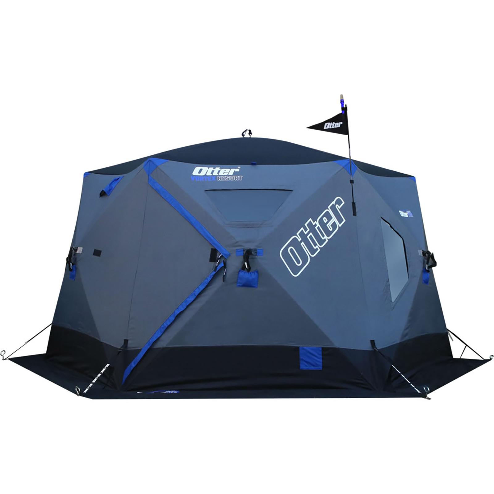 Otter Outdoors VORTEX Thermal Hub Ice Shelter Resort