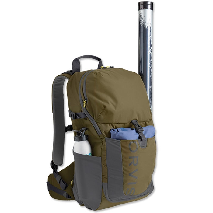 Orvis Safe Passage Angler's Day Pack In Use