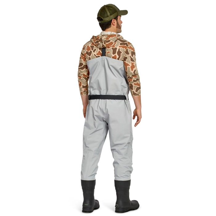 Orvis Men's Clearwater Bootfoot Chest Waders Model Back