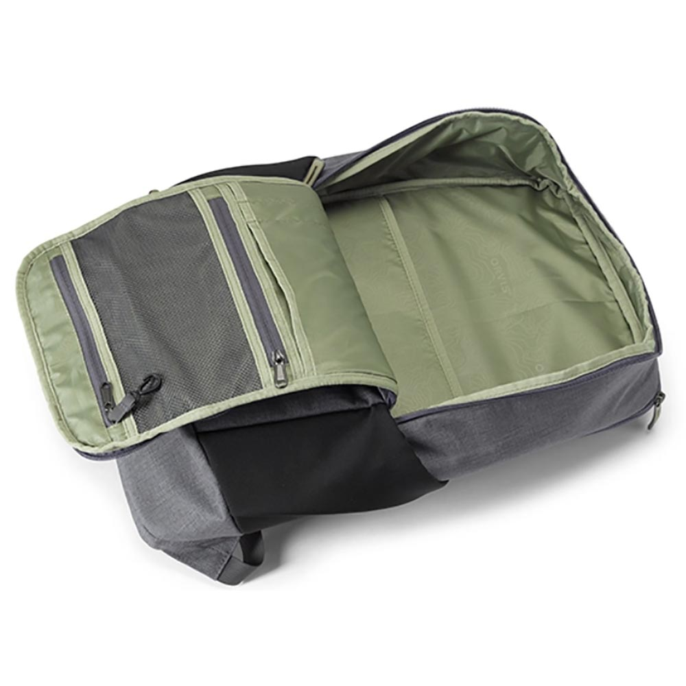Orvis Safe Passage Backpack - Open View