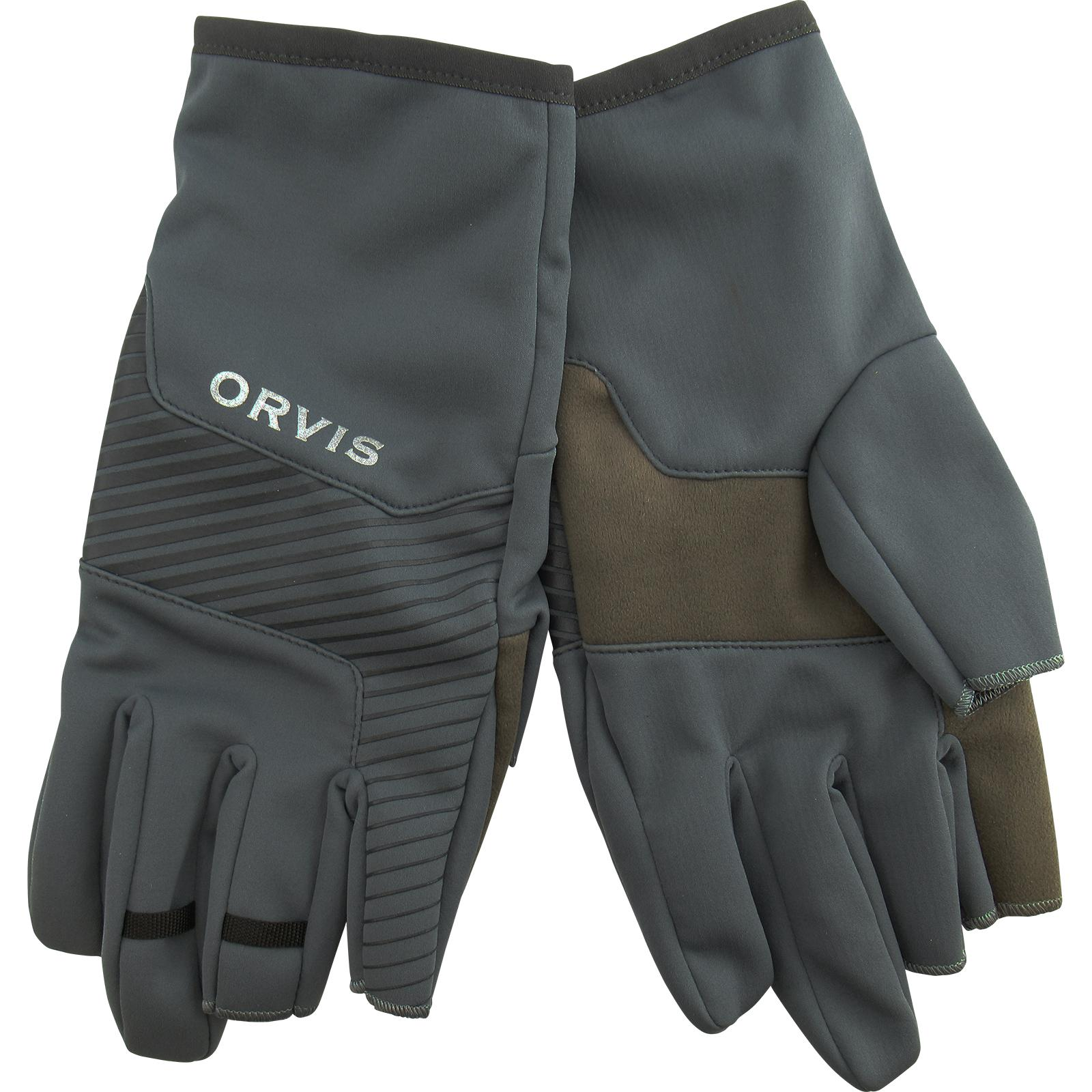 Orvis Men's Trigger Finger Softshell Gloves