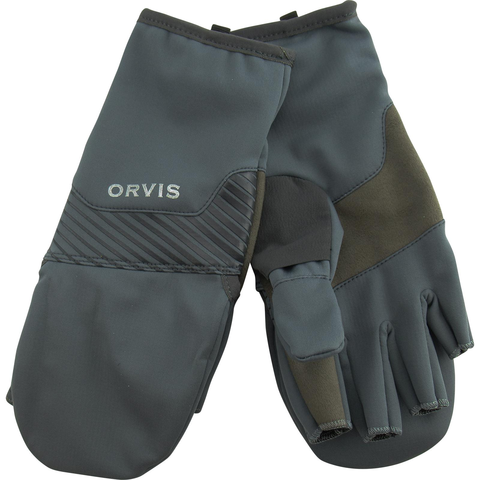 Orvis Men's Softshell Convertible Mitts
