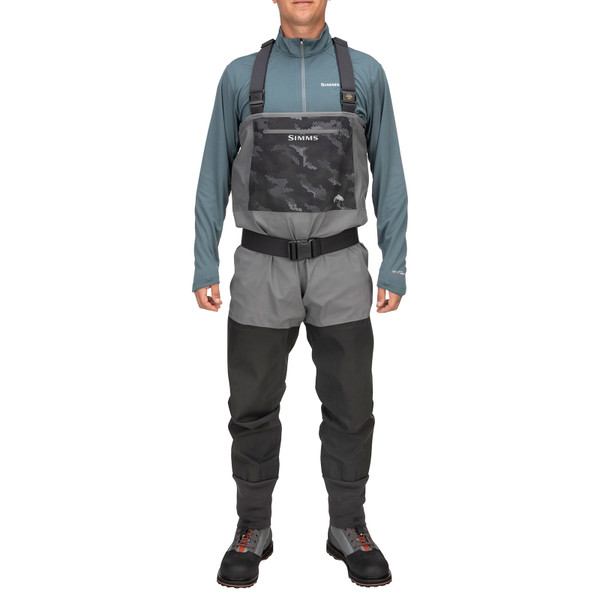 Simms Men's Guide Classic Stockingfoot Chest Waders front