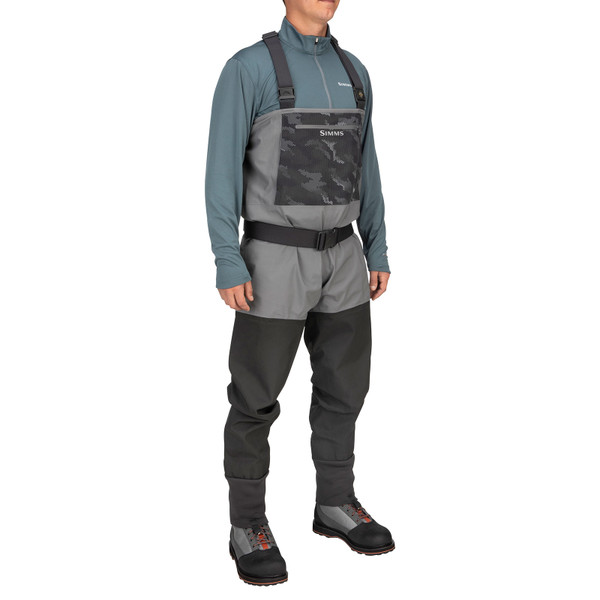 Simms Men's Guide Classic Stockingfoot Chest Waders side