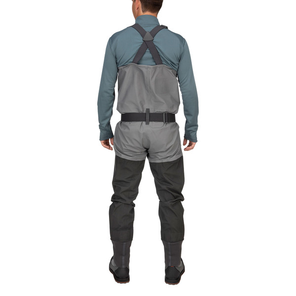 Simms Men's Guide Classic Stockingfoot Chest Waders rear