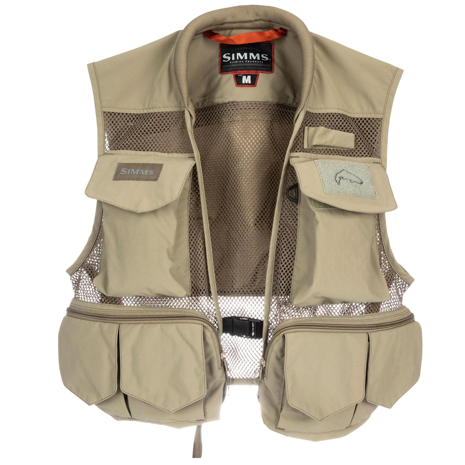 Simms Men's Tributary Fishing Vest