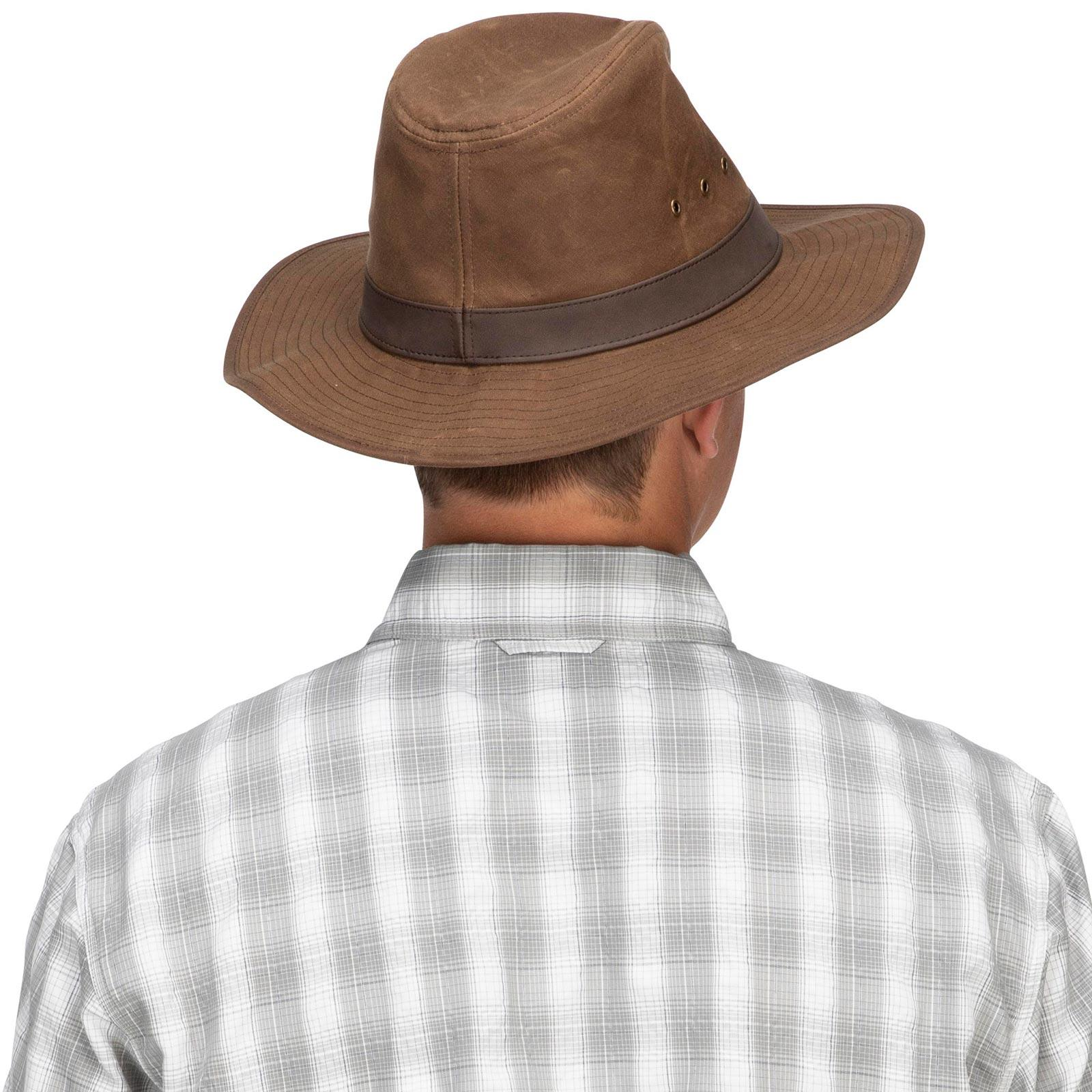 Simms Men's Guide Classic Hat Model Back