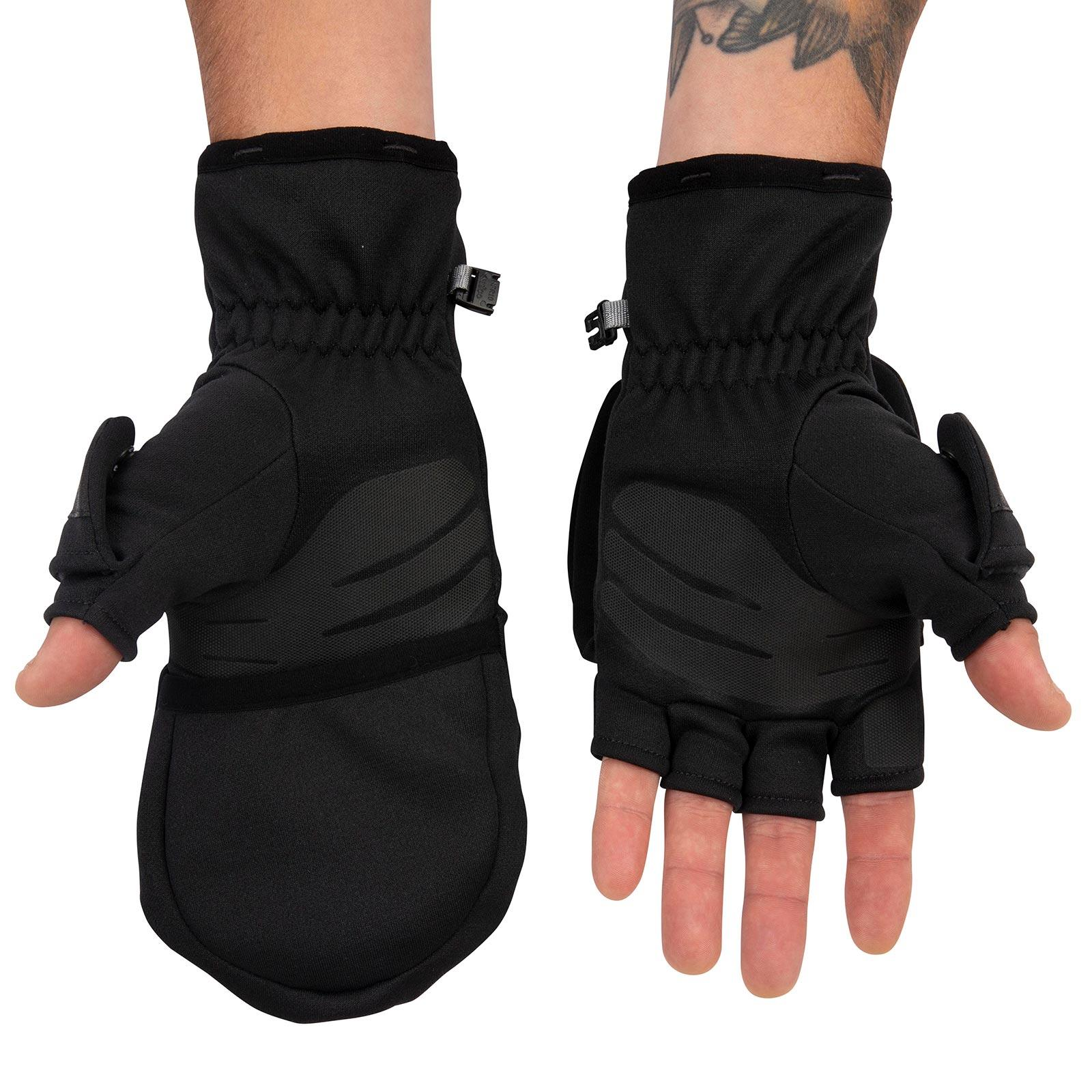 Simms Men's Freestone Foldover Mitts Thumbs Out