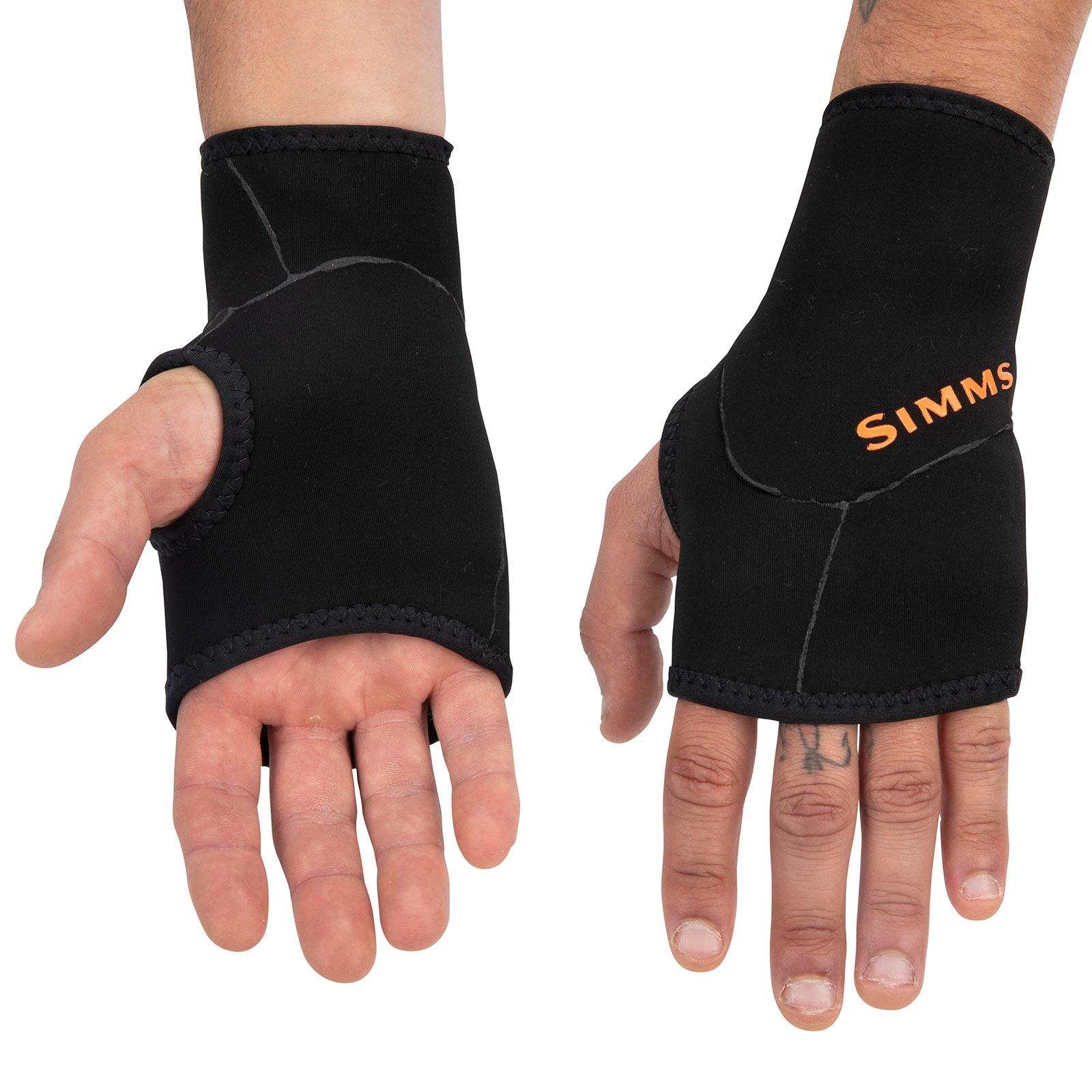 Simms Men's Kispiox Mitts Back and Front