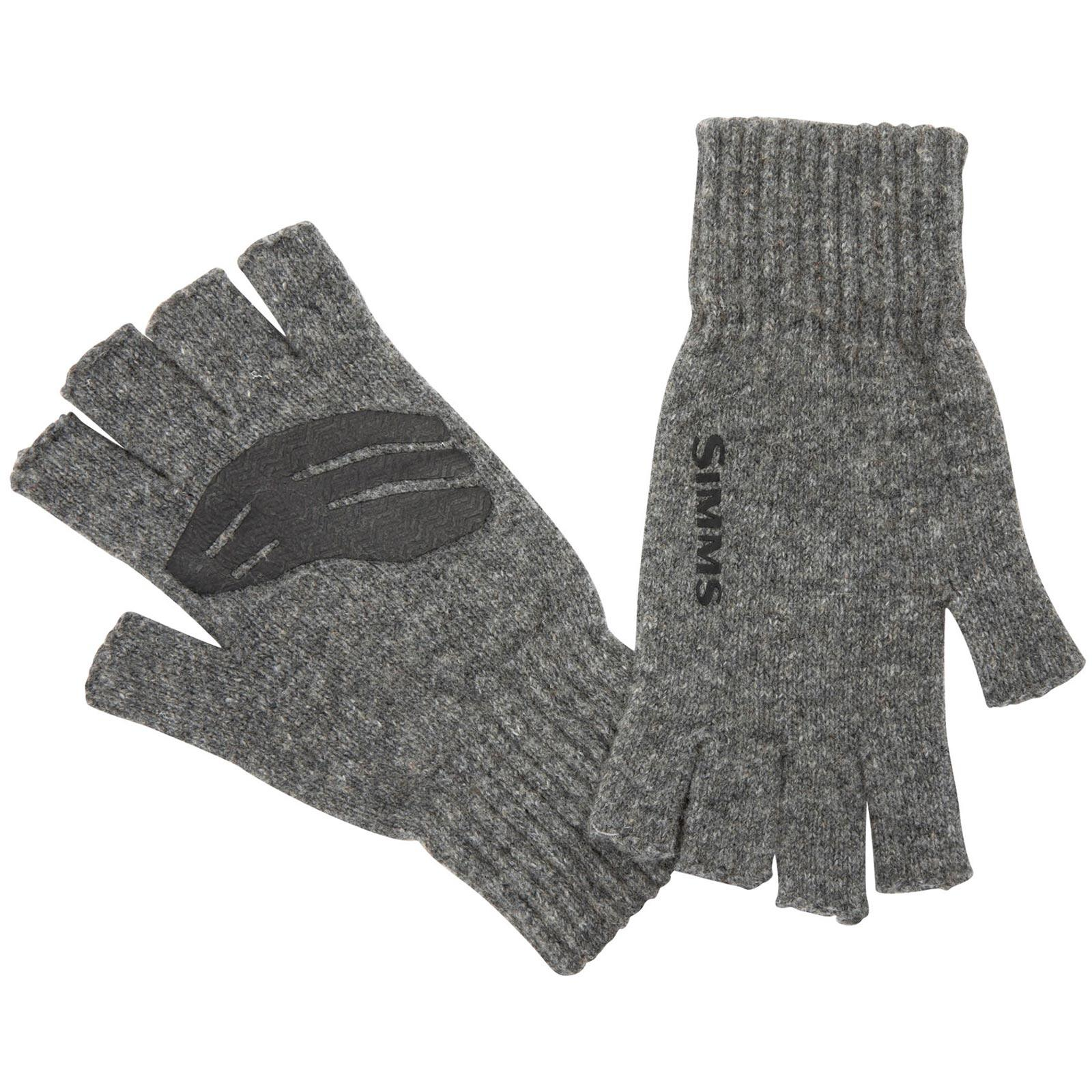 Simms Men's Wool Half-Finger Mitts