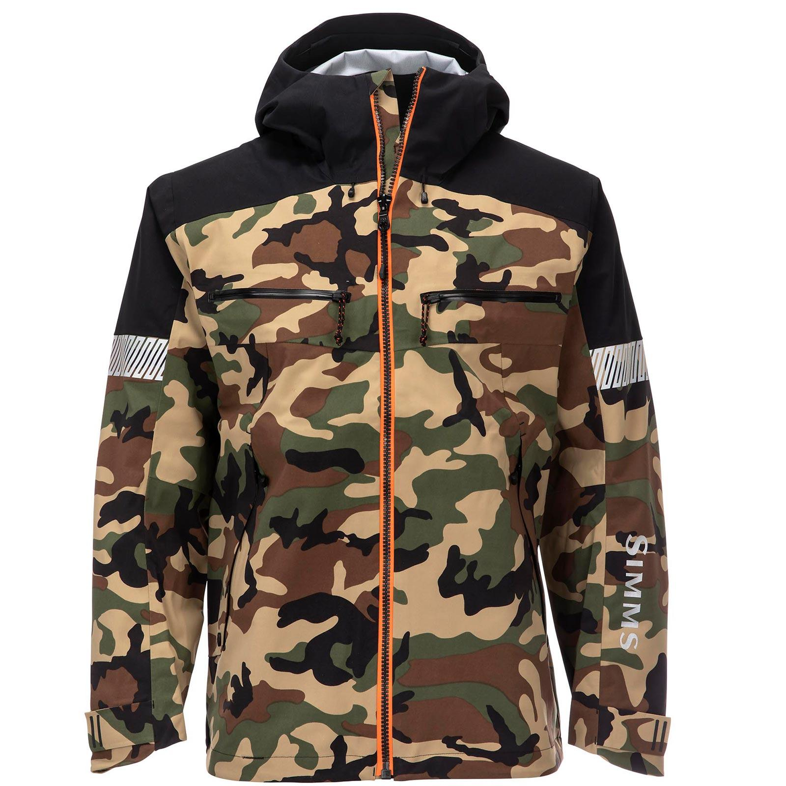 Simms Men's CX Jacket Woodland Camo