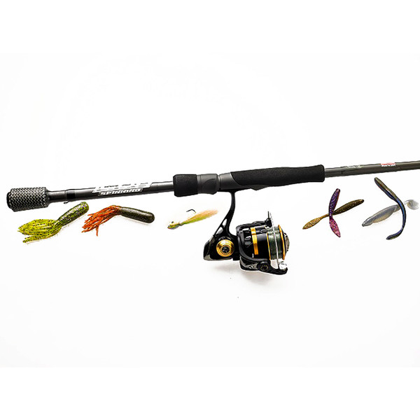 Cashion ICON Series Spinning Rod with tackle