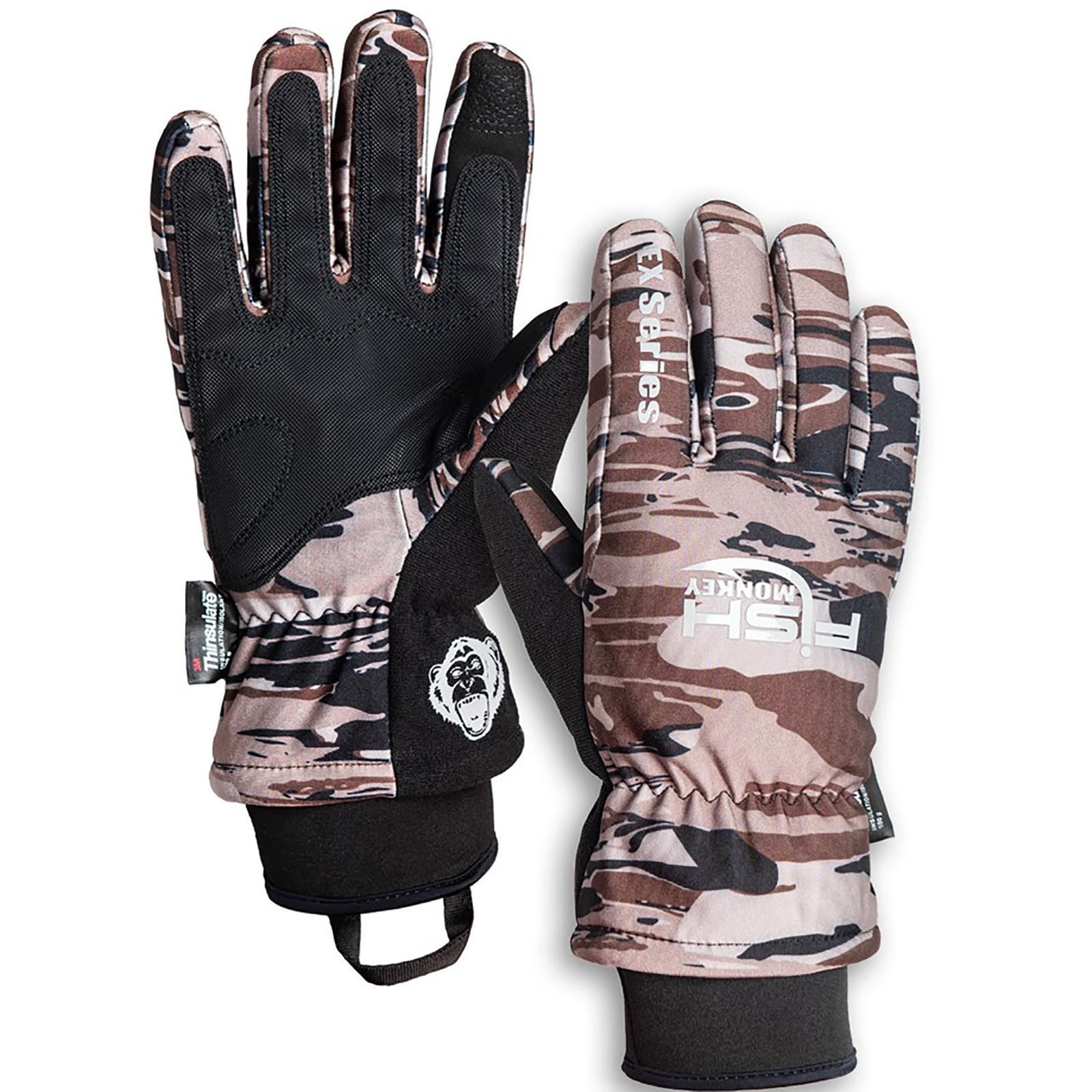 Fish Monkey Men's Tundra EX Waterproof Premium Insulated Gloves