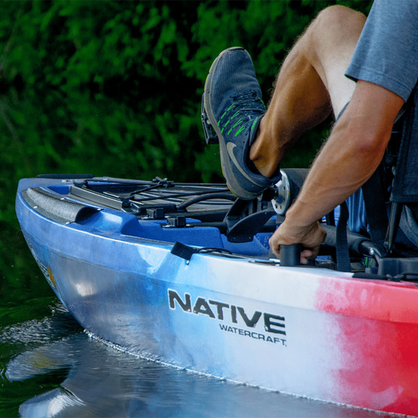 Native Watercraft Limited Edition Slayer Propel Max 12.5 Pedal Kayak In Use