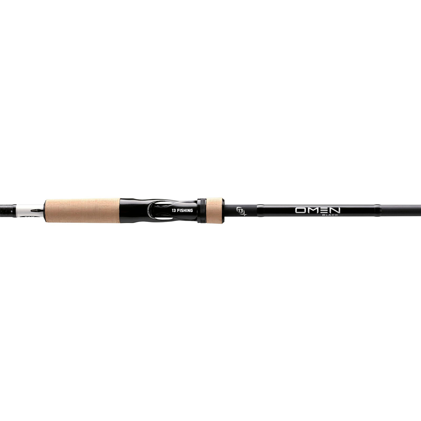 13 Fishing Omen Black 3 Kayak Casting Rod handle with logo
