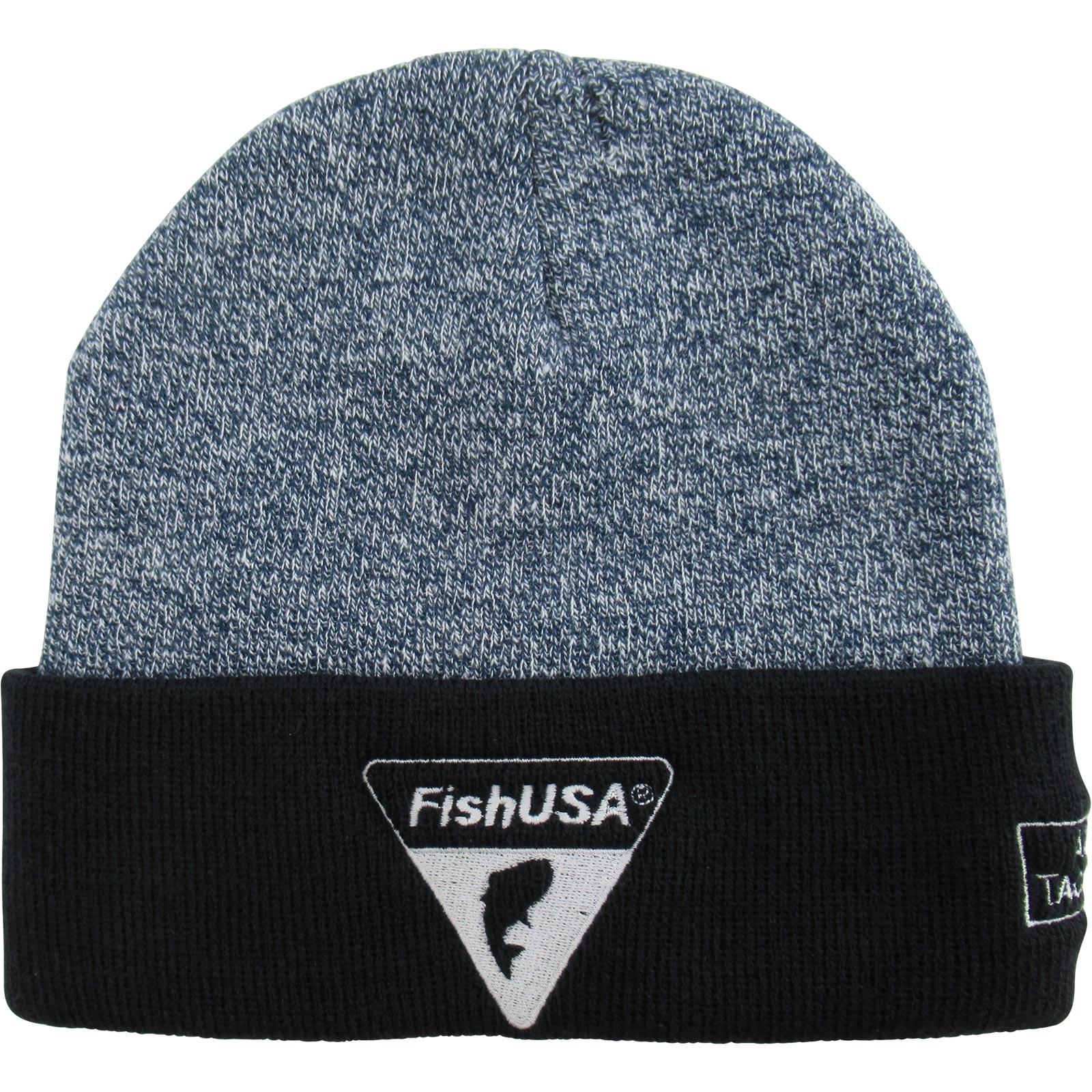 FishUSA Men's Two-Tone Cuff Beanie