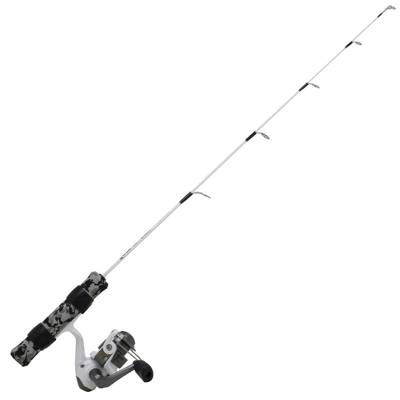 Clam Ice Sniper Spinning Combo