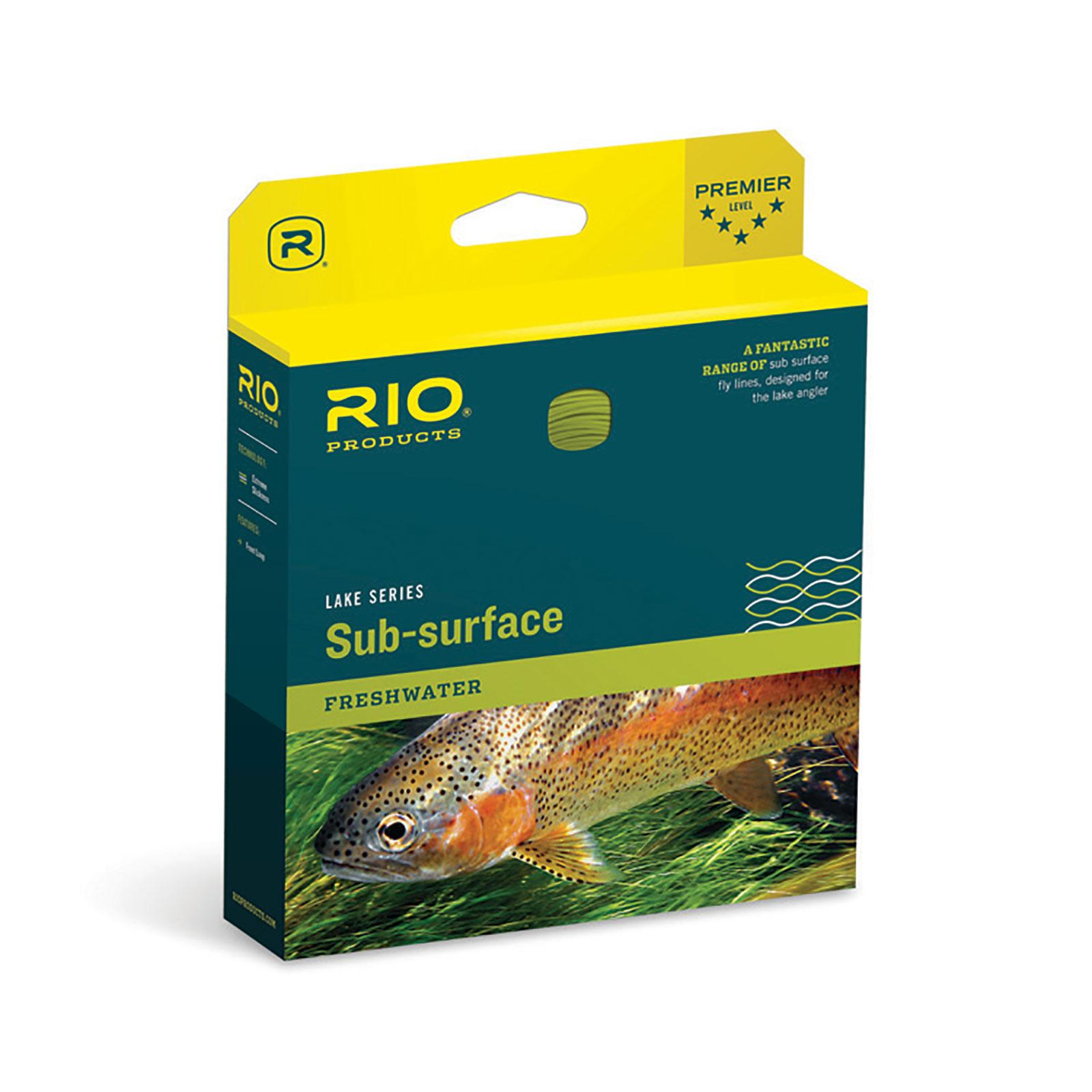 RIO Lake Series AquaLux Midge Tip Long Sub-Surface Fly Line-Box