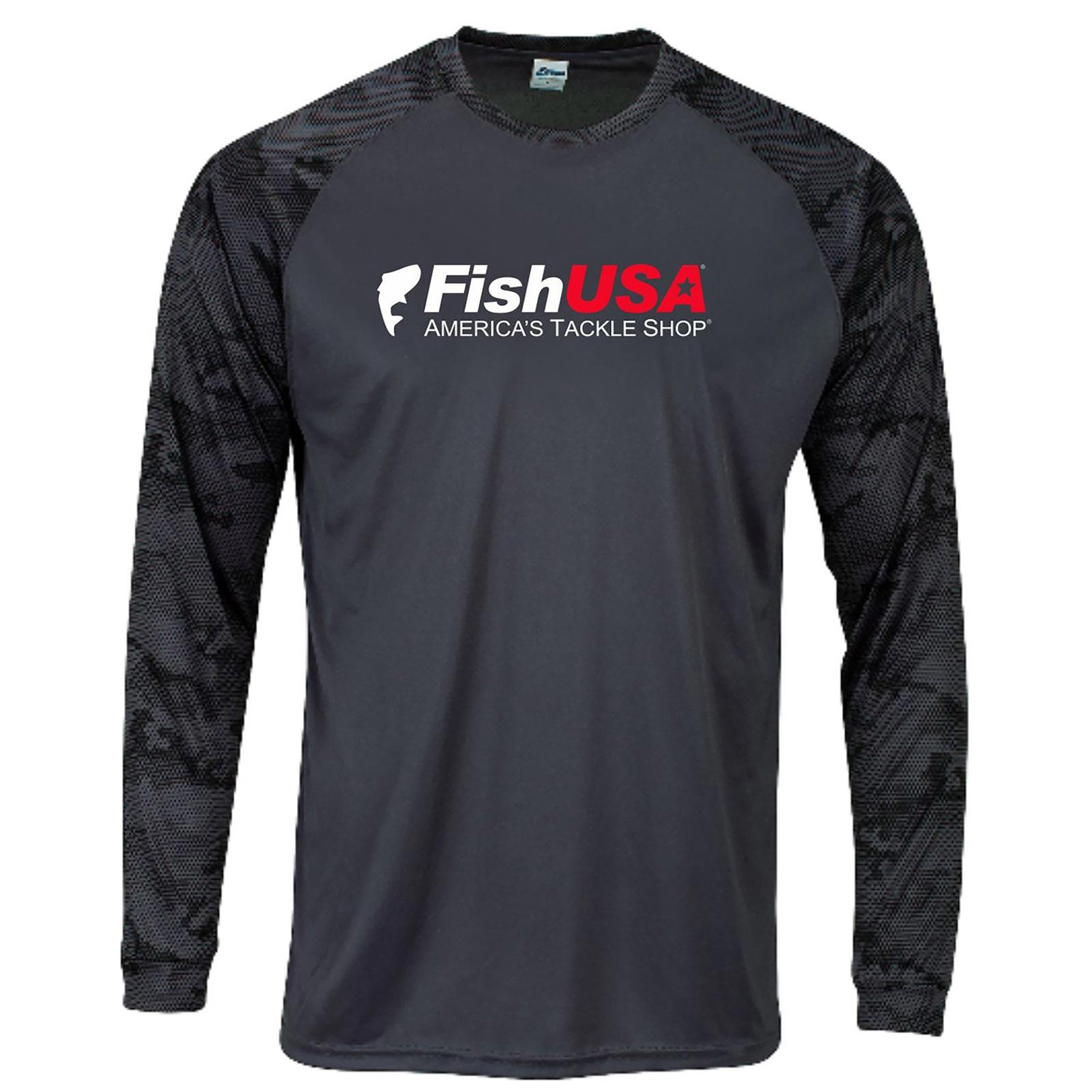 FishUSA Men's Limited Edition Long Sleeve Performance Shirt