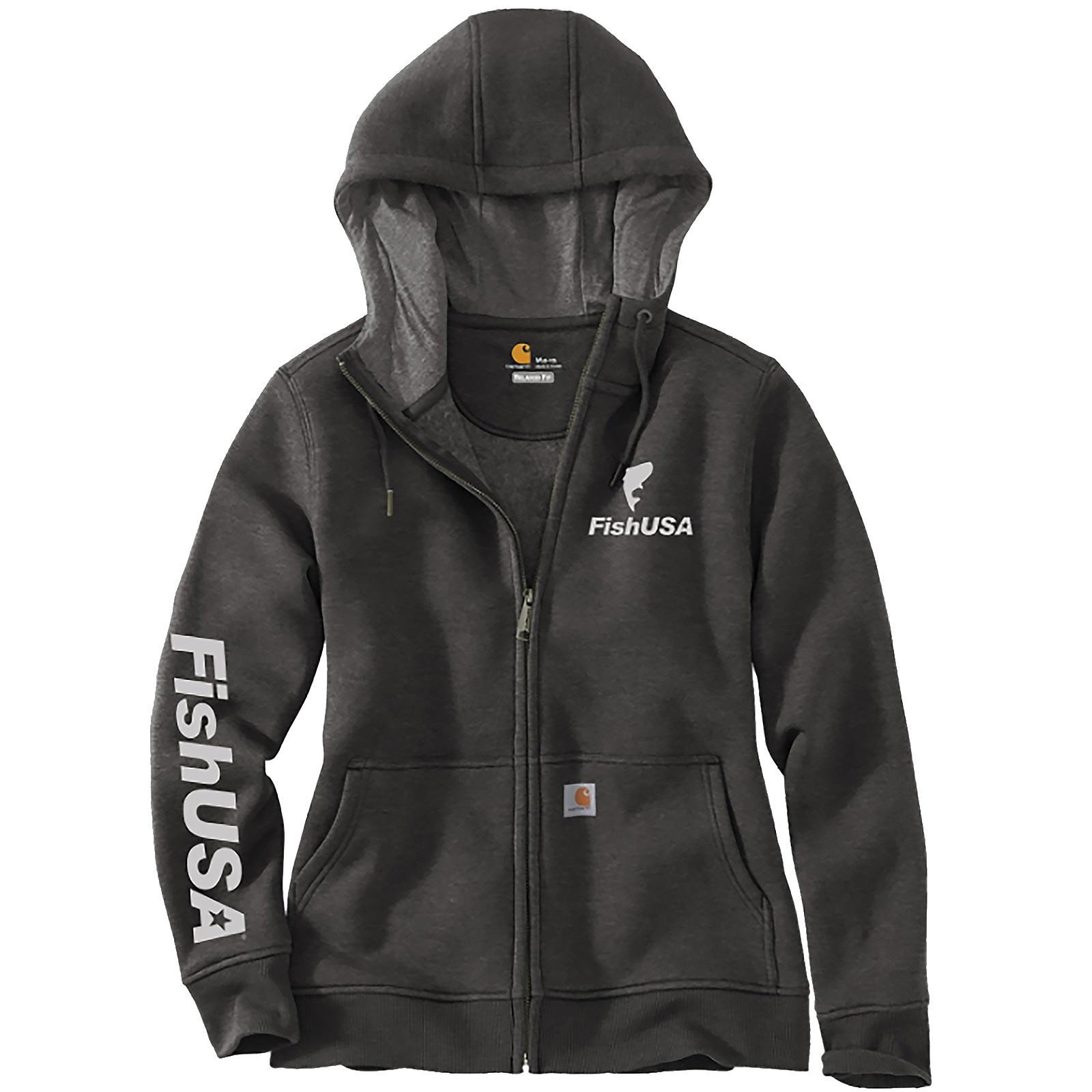 FishUSA Carhartt Women's Zip-Up Hoodie