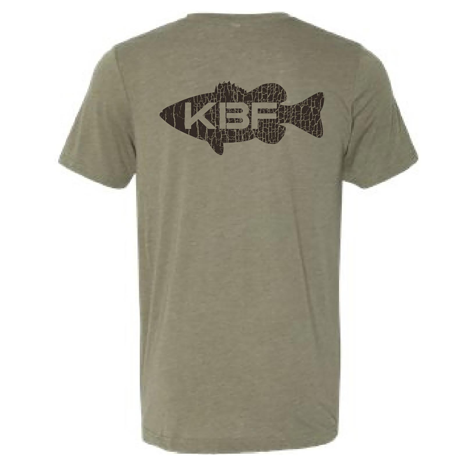 KBF Men's Classic Short Sleeve T-Shirt Back