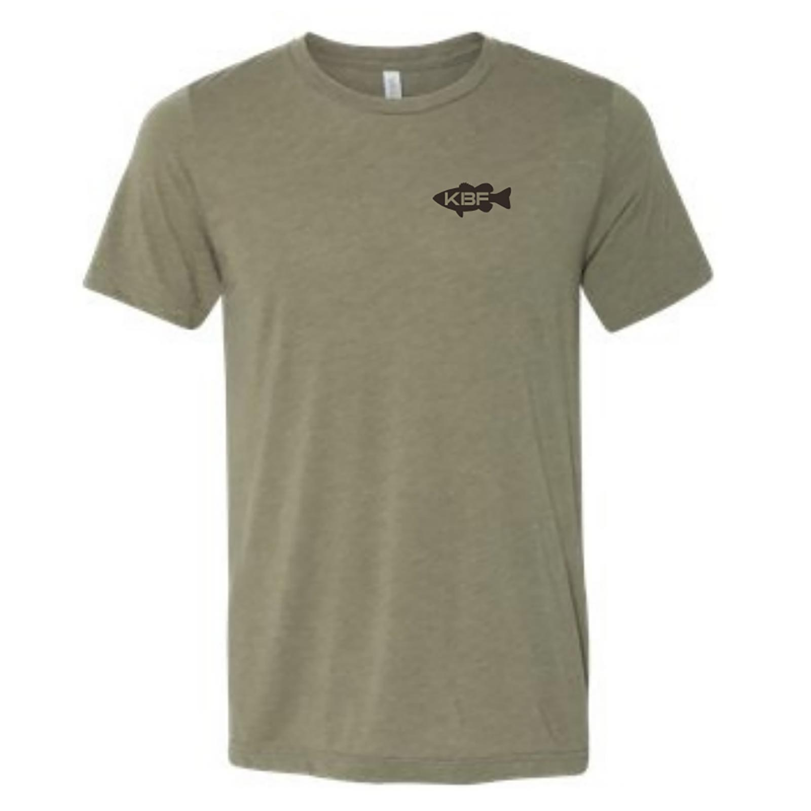 KBF Men's Leaping Bass Flag Short Sleeve T-Shirt