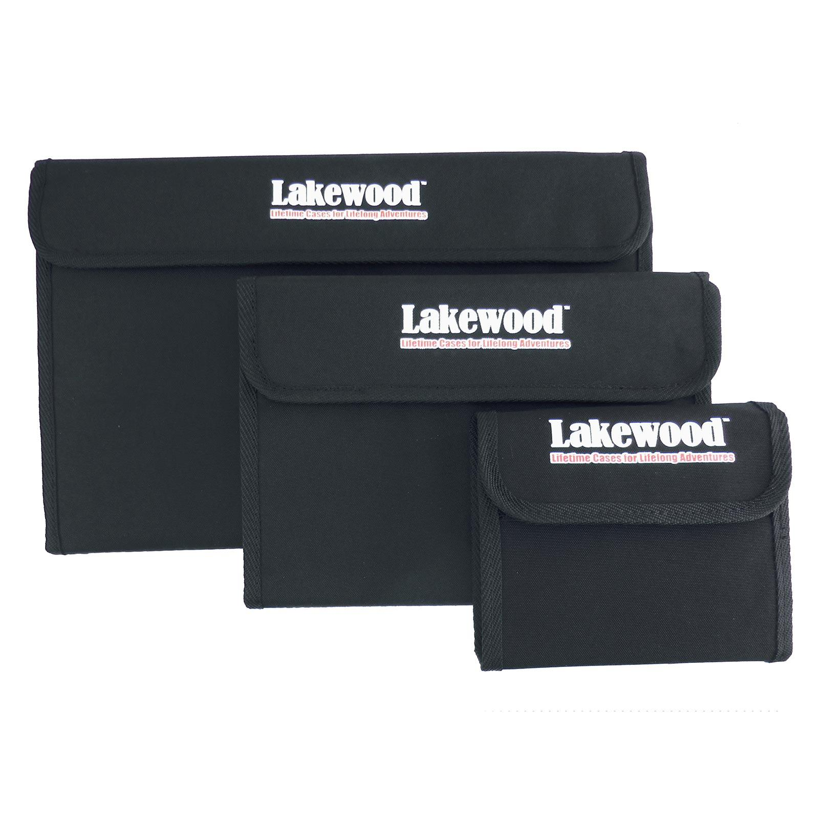 Lakewood Lure Wallet sizes