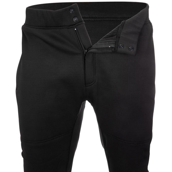 Simms Men's Thermal Bottoms button and zipper