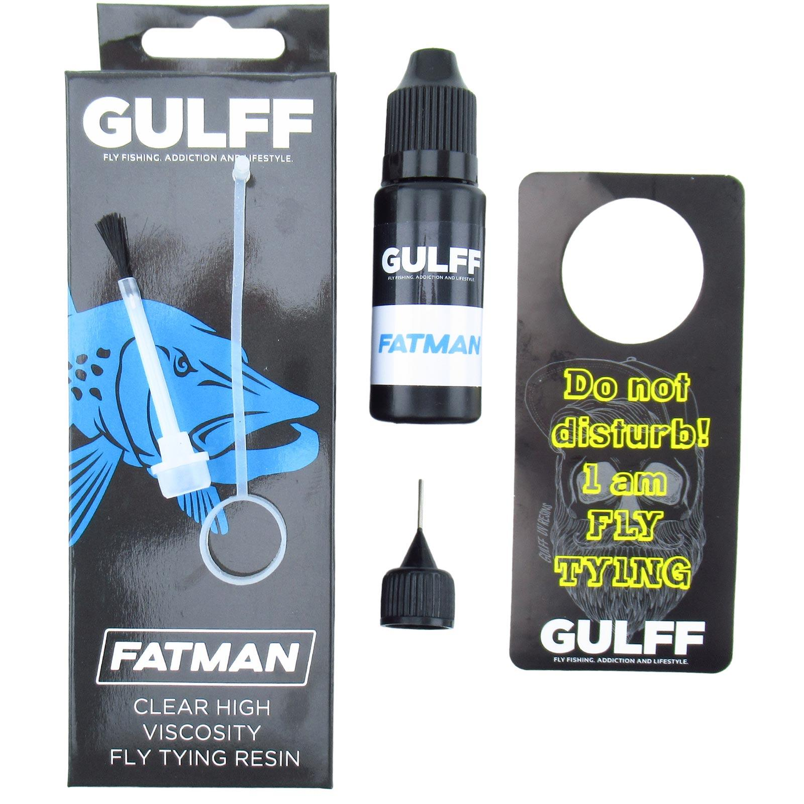 Gulff UV Clear Fly Resin Pieces