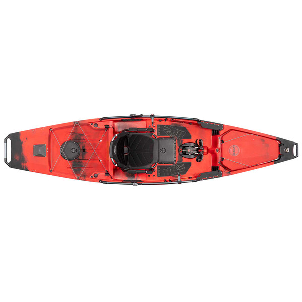 Hobie Special IKE Edition Mirage 360 Pro Angler 14 Pedal Fishing Kayak Top View